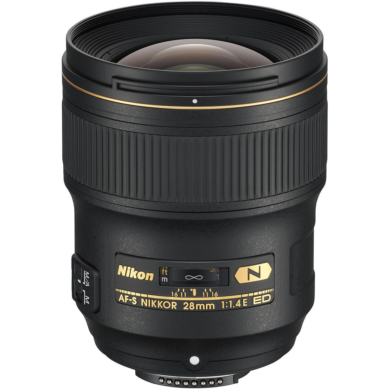 Объектив Nikon AF-S 28mm f/1.4E ED