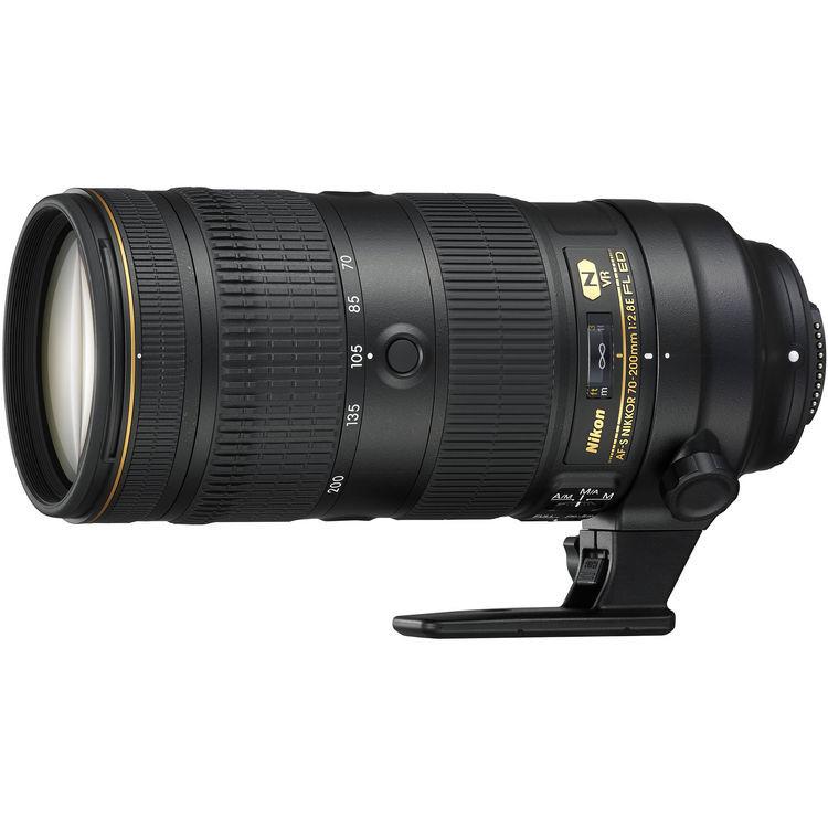 Объектив Nikon AF-S 70-200mm f/2.8E FL ED VR