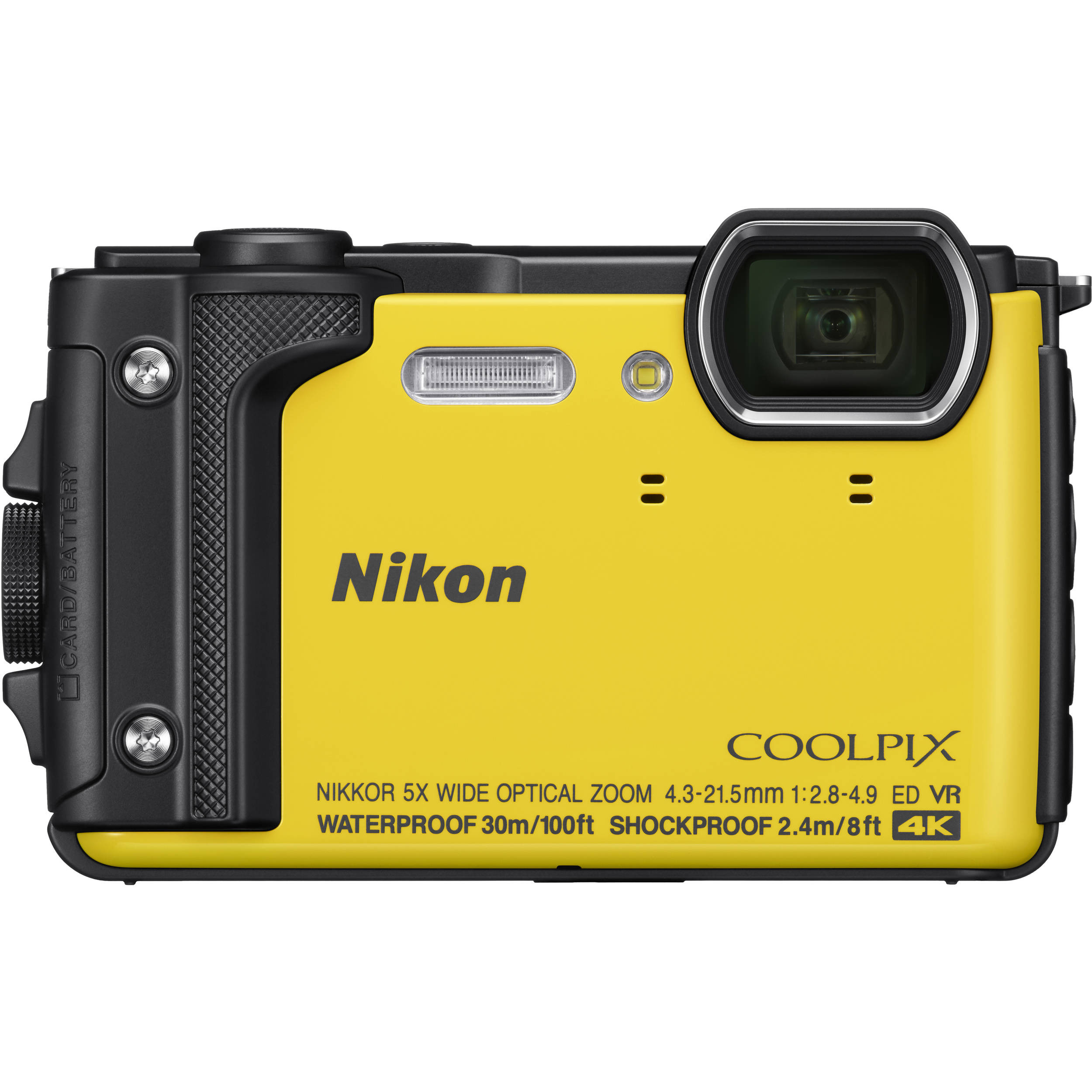 Фотоаппарат Nikon Coolpix W300 Yellow