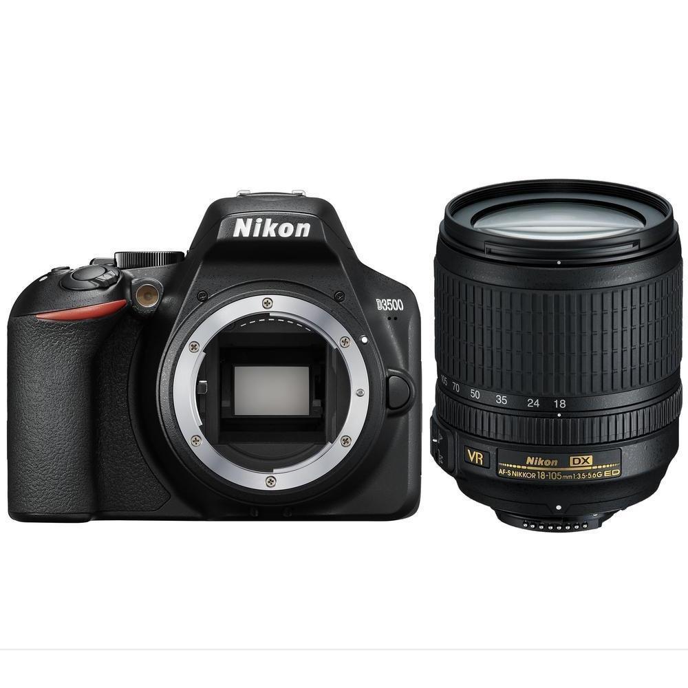 Фотоаппарат Nikon D3500 Kit AF-S 18-105 VR (VBA550K003)