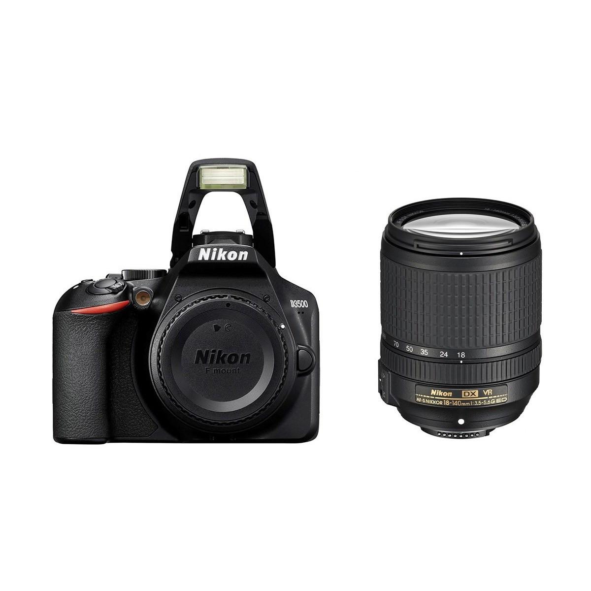 Фотоаппарат Nikon D3500 Kit AF-S 18-140 VR (VBA550K004)