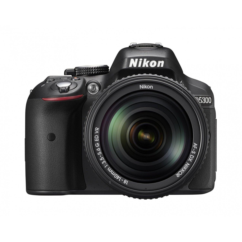 Фотоаппарат Nikon D5300 Kit 18-140mm Black