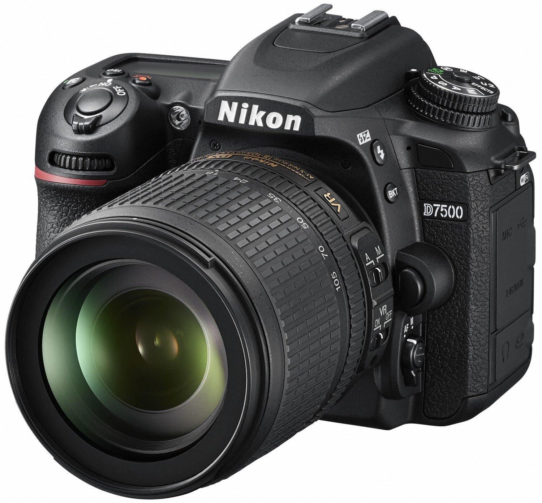 Фотоаппарат Nikon D7500 Kit 18-105 VR
