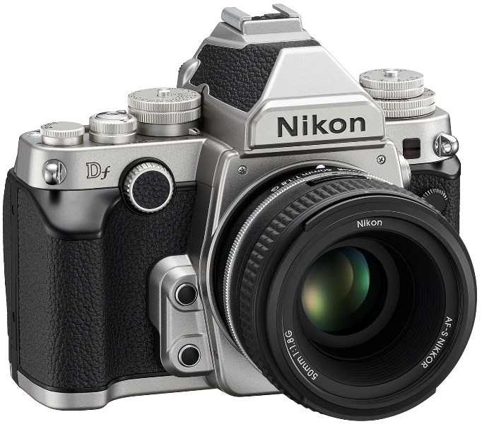 Фотоаппарат Nikon Df Kit 50mm Silver