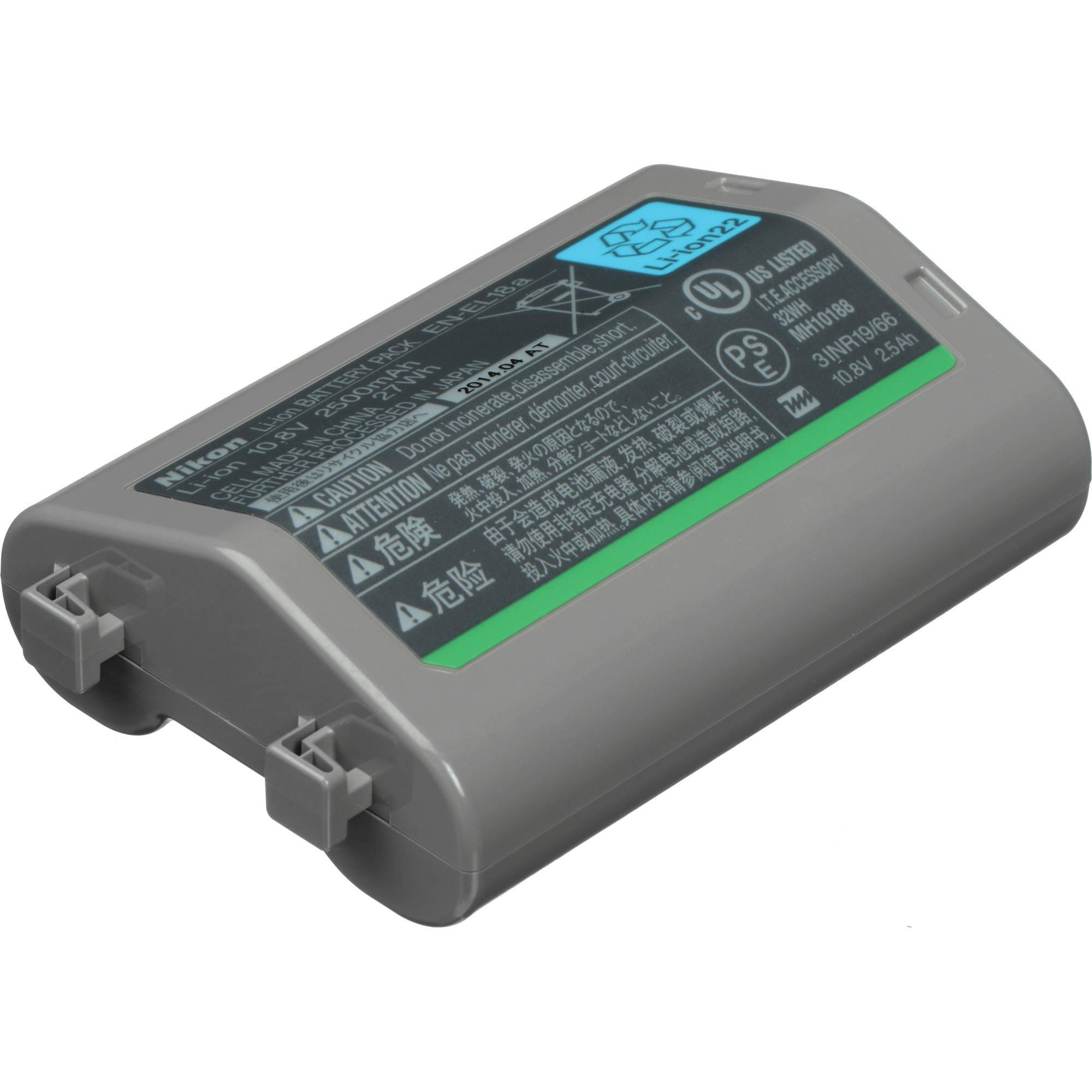 Аккумулятор Nikon EN-EL18a