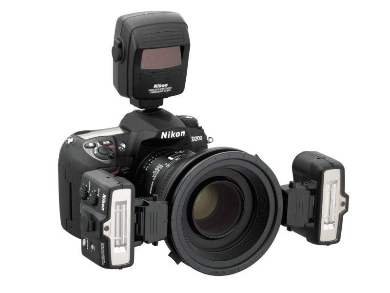 Набор вспышек Nikon SB-R200 и блока управления R1C1