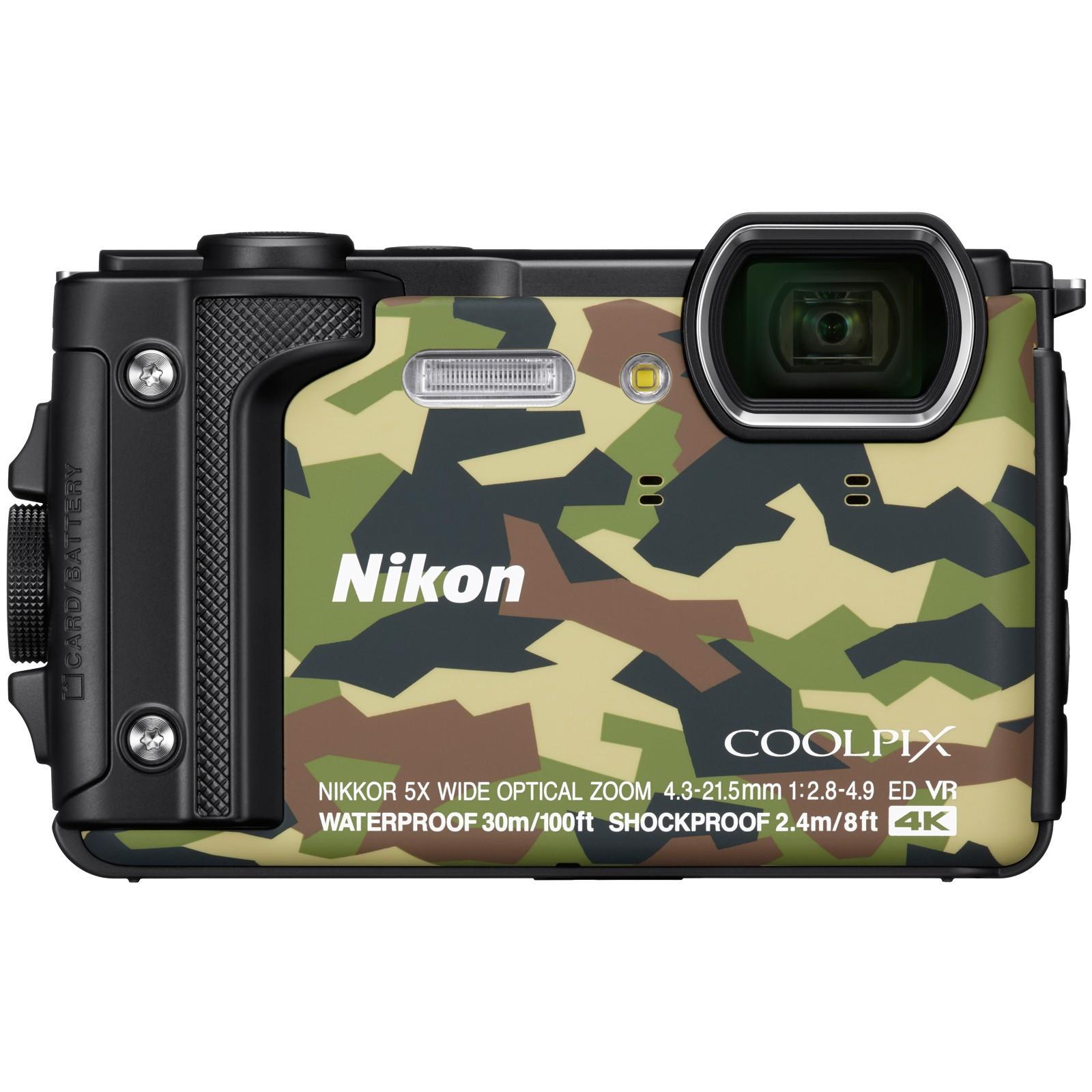 Фотоаппарат Nikon Coolpix W300 Camouflage