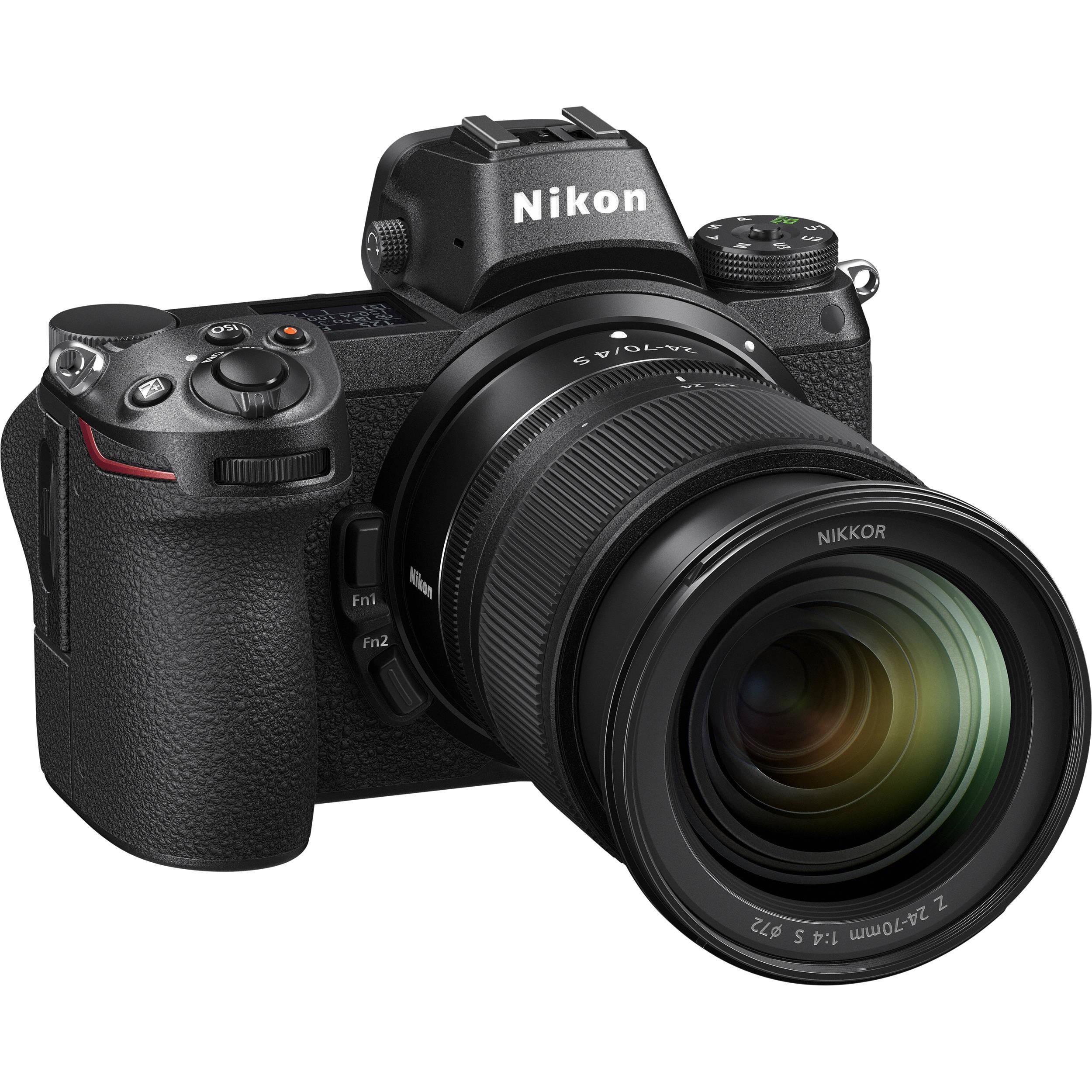 Фотоаппарат Nikon Z6 Kit 24-70 f/4 + FTZ Adapter (VOA020K003)