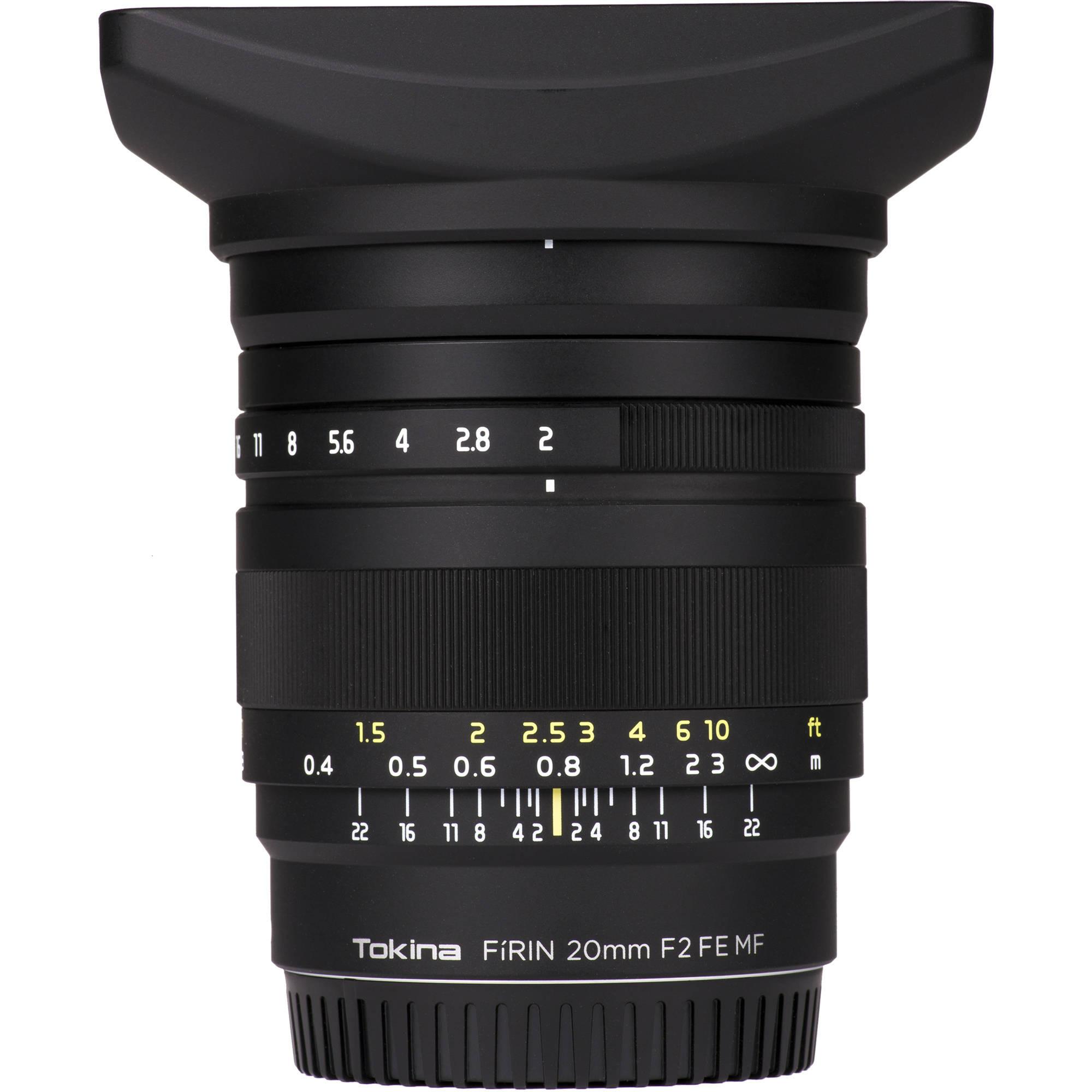 Объектив Tokina Firin 20mm f/2.0 FE MF (Sony)