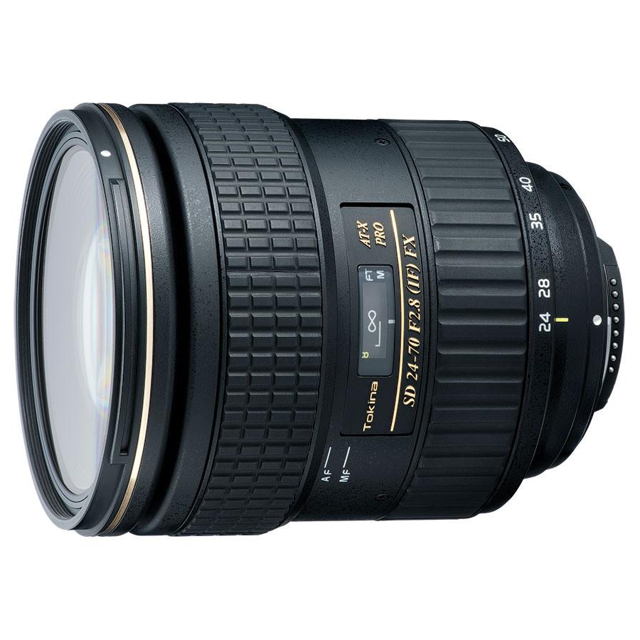 Объектив Tokina AT-X PRO FX 24-70mm f/2.8 (Nikon)