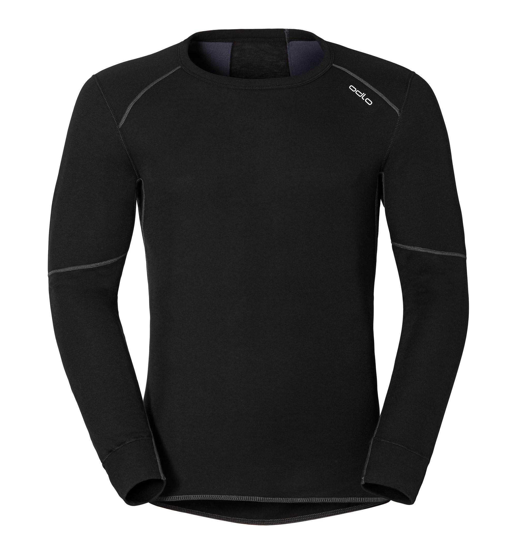 Термофутболка Odlo L/S Crew Neck X-Warm Black L (155162)