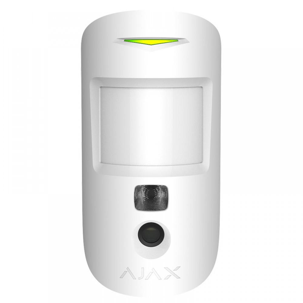 Беспроводной датчик движения с фотокамерой Ajax MotionCam Белый