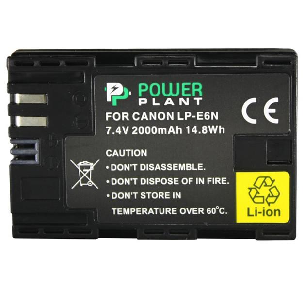 Аккумулятор PowerPlant Canon LP-E6N 2000mAh (DV00DV1405)