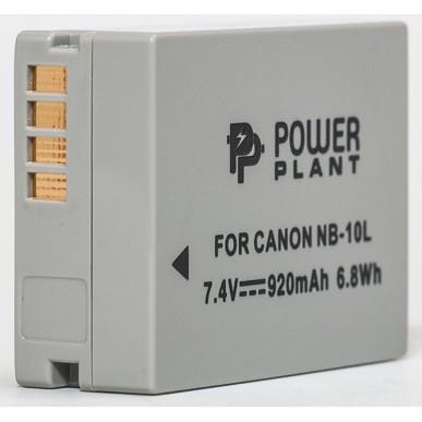 Аккумулятор PowerPlant Canon NB-10L 920mAh (DV00DV1302)