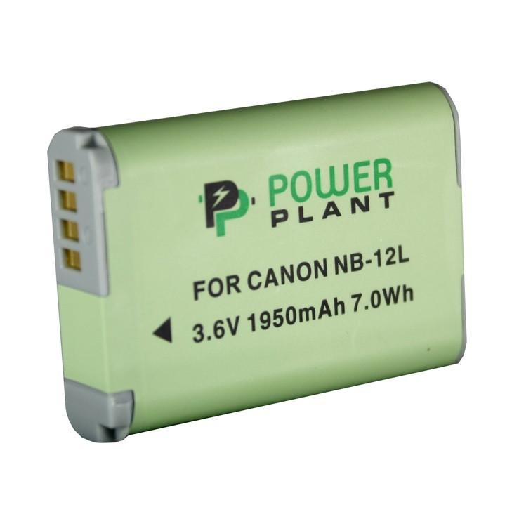 Аккумулятор PowerPlant Canon NB-12L 1950mAh (DV00DV1404)