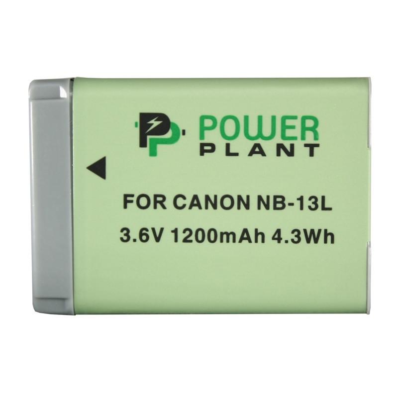Аккумулятор PowerPlant Canon NB-13L 1200mAh (DV00DV1403)