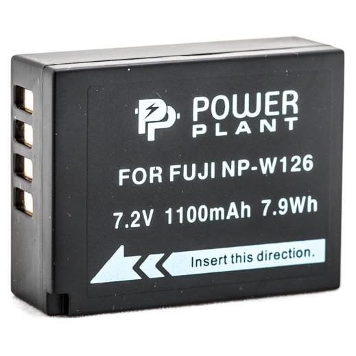 Аккумулятор PowerPlant Fuji NP-W126 1110mAh (DV00DV1316)