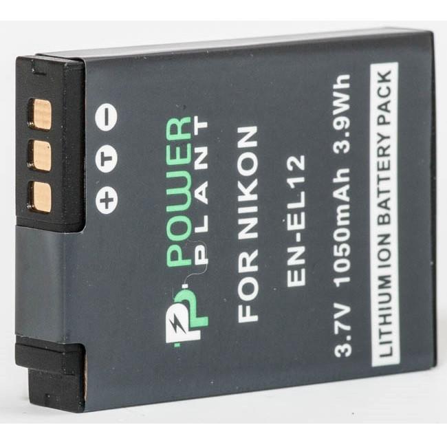 Аккумулятор PowerPlant Nikon EN-EL12 1050mAh (DV00DV1242)