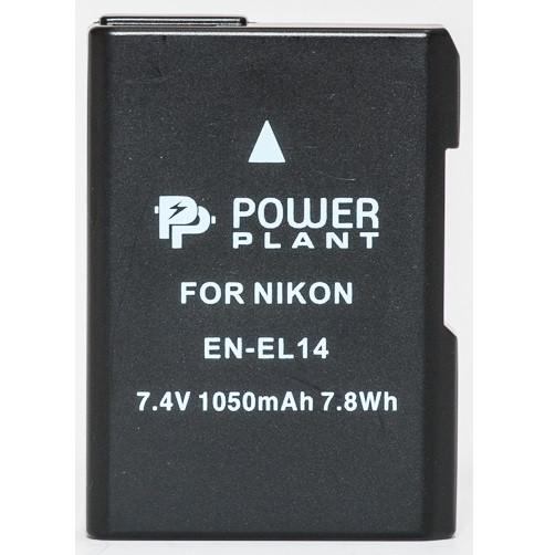Аккумулятор PowerPlant Nikon EN-EL14 1050mAh (DV00DV1290)