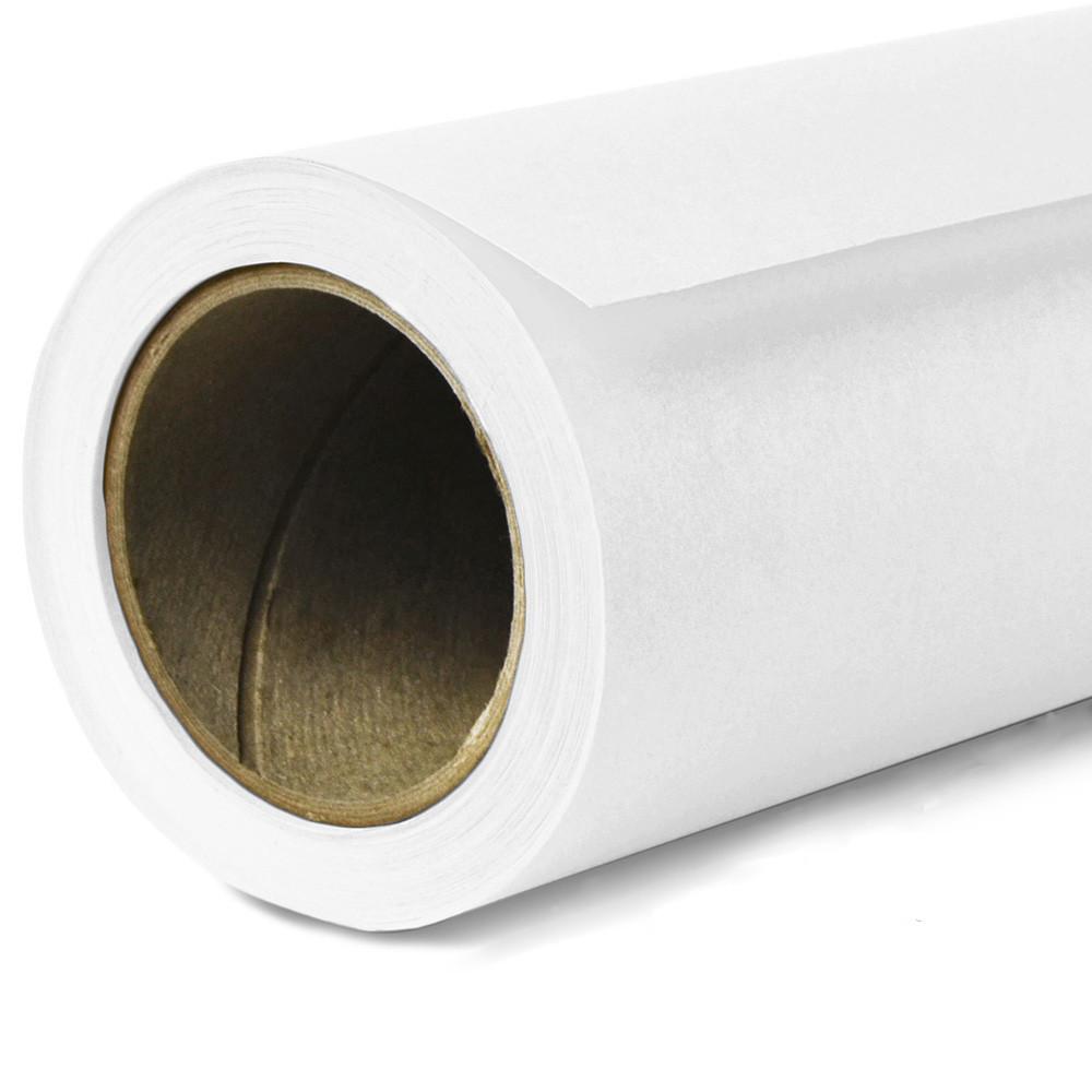 Фон бумажный Savage Widetone Super White 1 Белый рулон 1.36 x 11 м