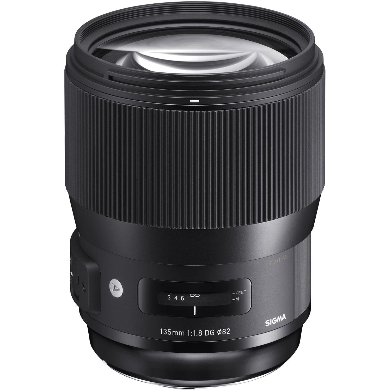 Объектив Sigma AF 135mm f/1.8 DG HSM Art (Canon)