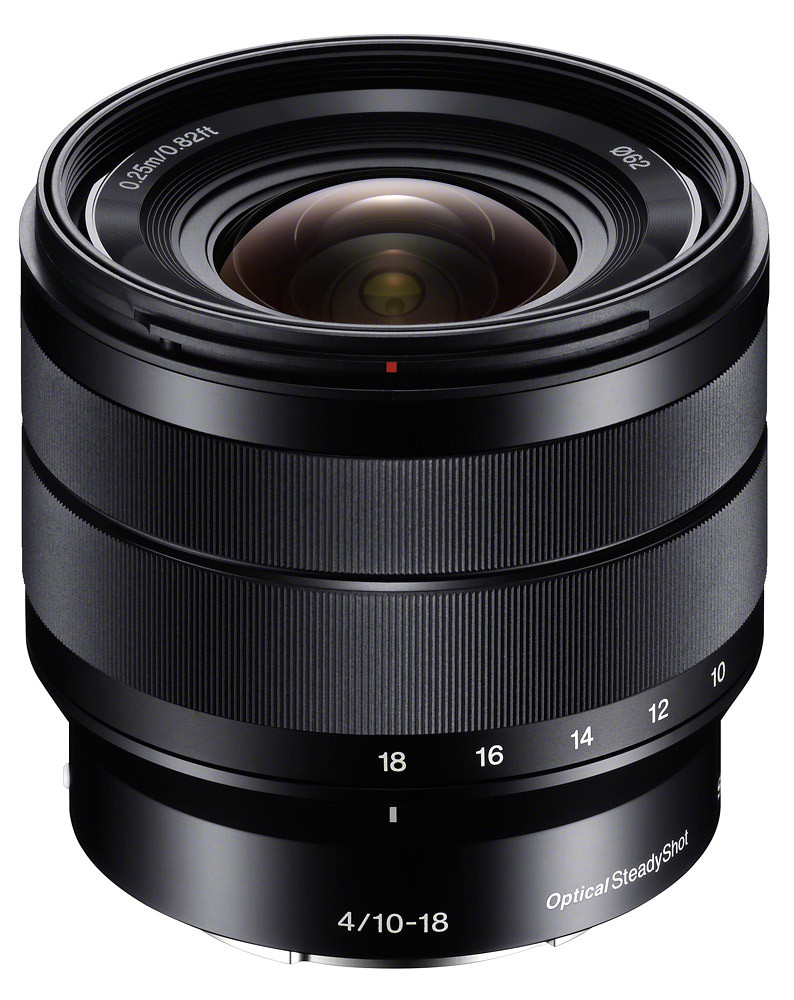Объектив Sony E 10-18mm f/4