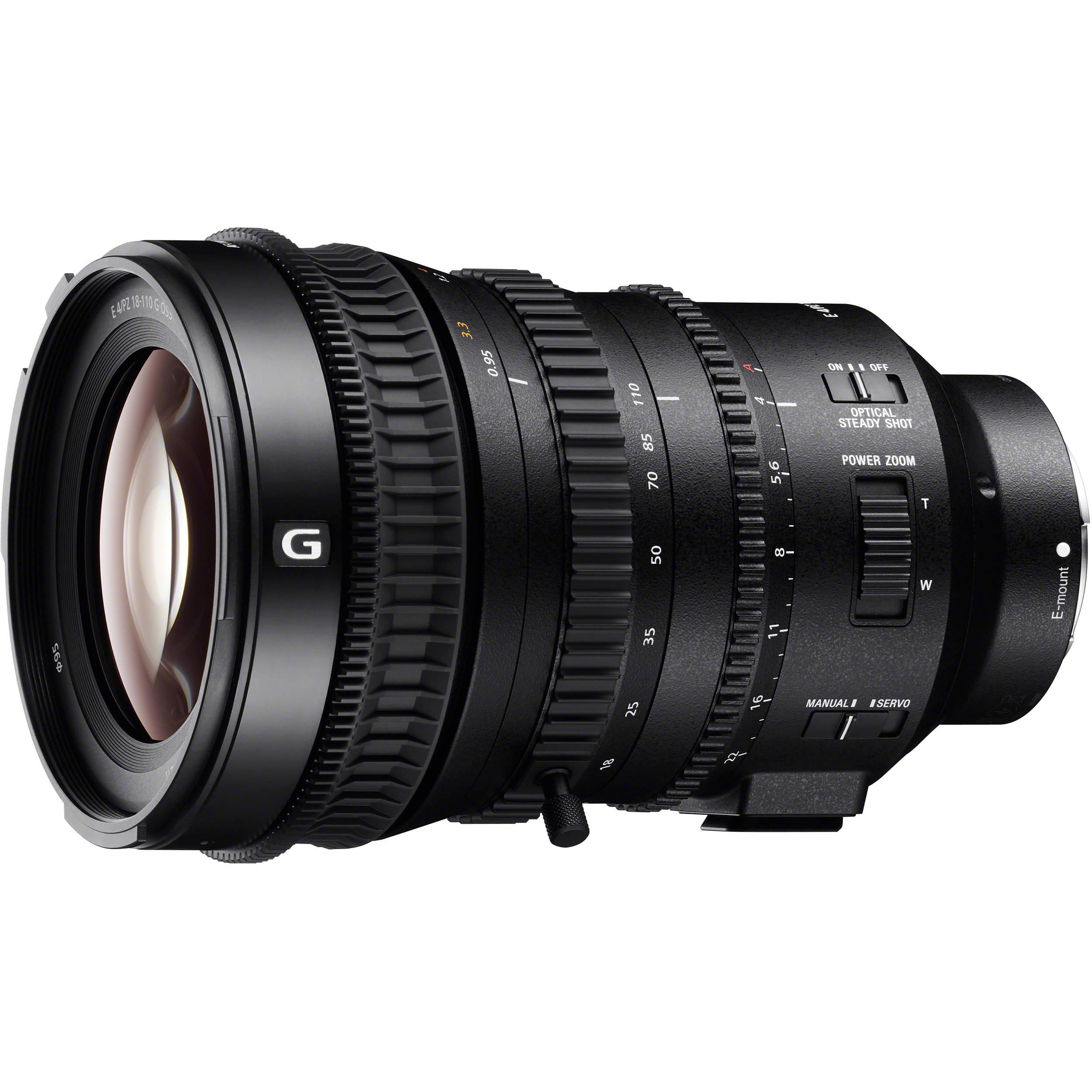 Объектив Sony E 18-110mm f/4.0 G Power Zoom