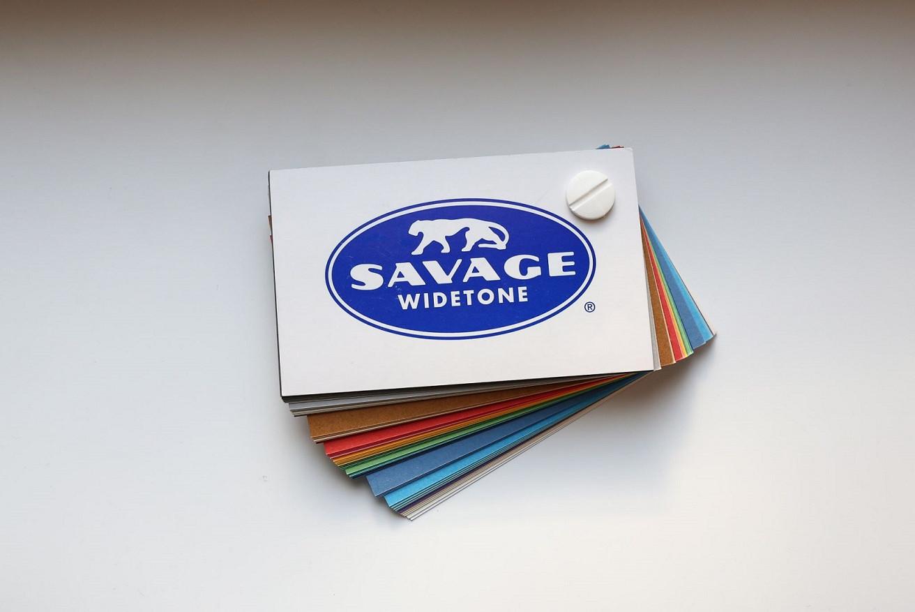 Каталог расцветок бумажных фонов Savage (USA)