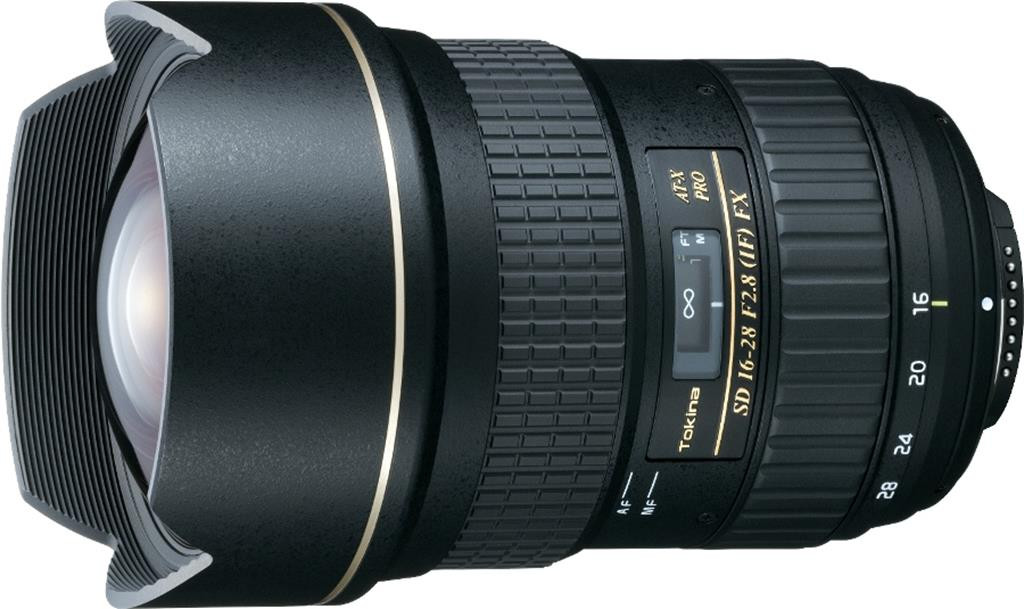 Объектив Tokina AT-X PRO FX 16-28mm f/2.8 (Canon)