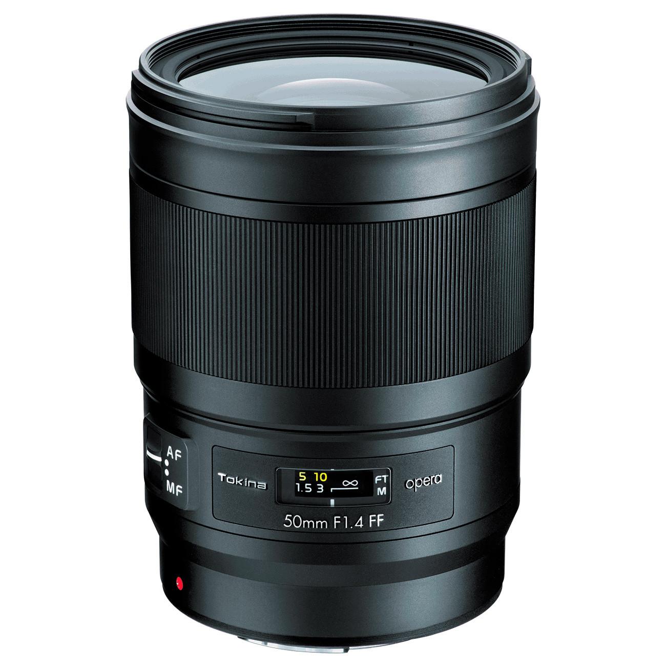 Объектив Tokina OPERA FX 50mm f/1.4 (Nikon)