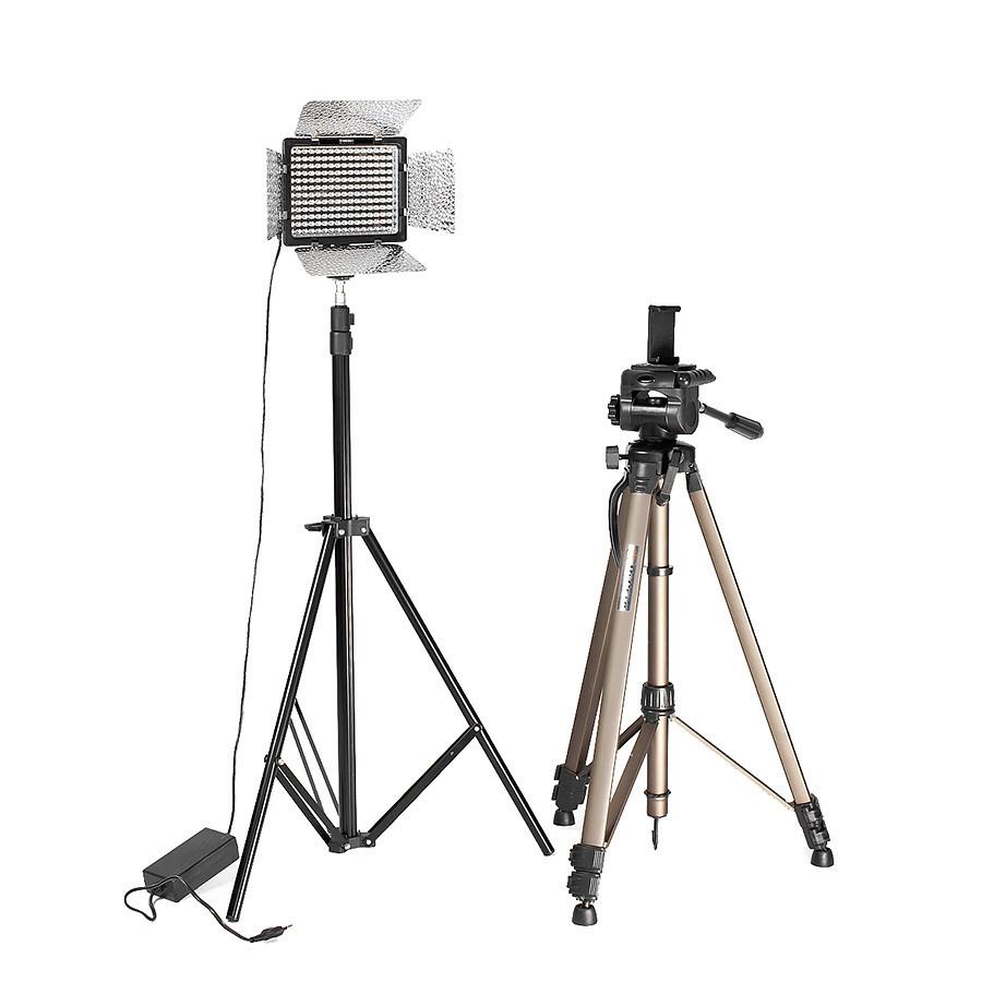 Набор для фото-видео съемки контента Yongnuo YN-160 III Full Kit