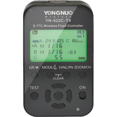 Передатчик-контроллер Yongnuo YN622C-TX Canon для радиосинхронизаторов YN622C