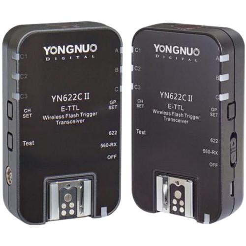Радиосинхронизатор для накамерных вспышек с TTL Yongnuo YN-622C II Canon