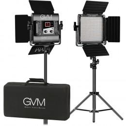 Набор постоянного LED видеосвета GVM 560AS (3200-5600K) х2