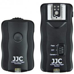 Радиосинхронизатор для накамерных и студийных вспышек JJC JF-U1
