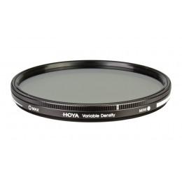 Фильтр нейтрально-серый переменной плотности Hoya Variable Density (1,5-9 стопов) 82 мм