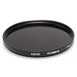 Фильтр нейтрально-серый Hoya Pro ND 16 (4 стопа) 52 мм