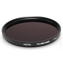 Фильтр нейтрально-серый Hoya Pro ND 1000 (10 стопов) 82 мм