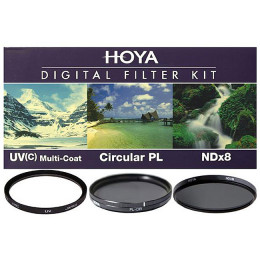 Набор фильтров (UV, Pol, NDx8) Hoya Digital Filter Kit 55 мм