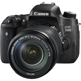 Фотоаппарат Canon EOS 760D Kit 18-135 IS STM