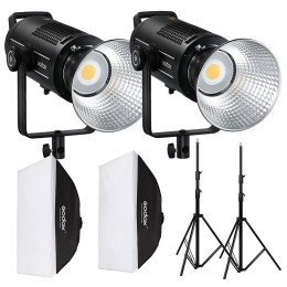 Набор постоянного света Godox LED SL-150WII Kit Softbox (SL150WII303sb6090)