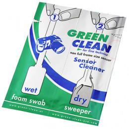 Швабры для чистки неполноразмерных матриц Green Clean SC-4070-1 (влажная,сухая)