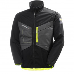 Куртка Helly Hansen Aker Jacket - 77200 (Black/Dark Grey)