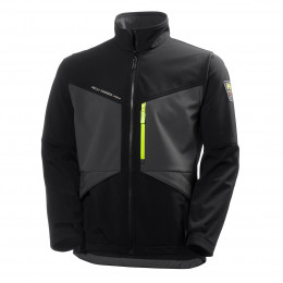 Куртка Helly Hansen Aker Softshell - 74051 (Dark Grey/Black)