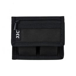 Чехол JJC BC-P2 для двух DSLR батарей и двух карт памяти SD/XQD/CF