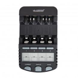 Интеллектуальное зарядное устройство для аккумуляторов AA/AAA La Crosse BC-700