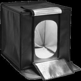 Лайт бокс с LED подсветкой для предметной съемки Mircopro 550 (50x50x50 см)