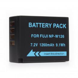 Аккумулятор MyGear NP-W126, 1260mAh