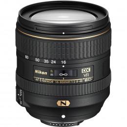 Объектив Nikon AF-S DX 16-80mm f/2.8-4E ED VR