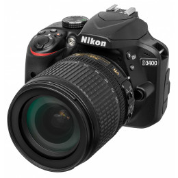 Фотоаппарат Nikon D3400 Kit 18-105 VR